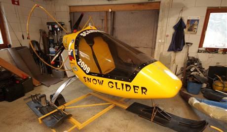 Zaparkovaný Snow Glider