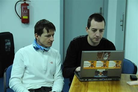 Pavel Churavý při on-line rozhovoru pro iDNES.cz
