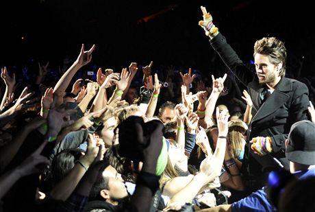 Skupina 30 Seconds to Mars vystoupí 18. března v pražské Incheba Areně.