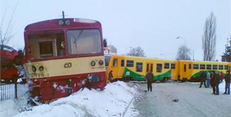 Železniční nehoda v Kolíně. (29. ledna 2010)