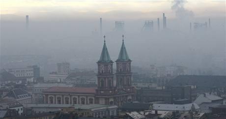Smog v Ostravě. Ilustrační foto
