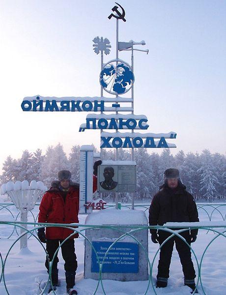 Jakutsko, Ojmjakon