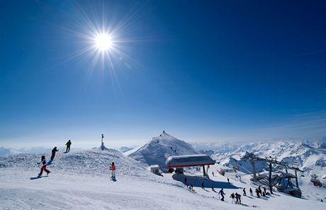 Rakousko, Nassfeld. Ledovec Mölltal