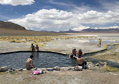 Bolívie. Národní přírodní rezervace andské fauny generála Eduarda Avaroy
