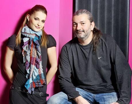 Šárka Vaňková a Daniel Hůlka