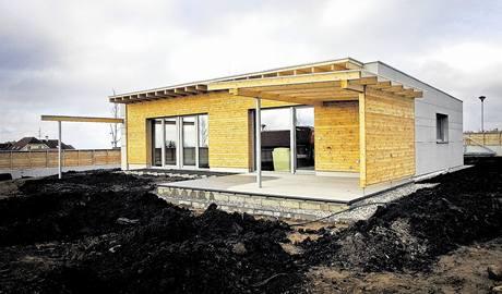 Od roku 2010 bude mo�n� stav�t prakticky jen pasivn� domy. Ilustra�n� foto