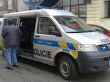 Policie u přepadené banky v Praze na Vinohradech.