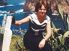 Iva Málková. - Na redukčně-kondičním pobytu na Madeiře. (2002)