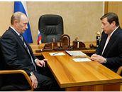 Alexandr Chloponin u ruského premiéra Putina