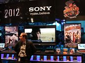 Stánek Sony na CES 2010