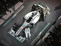 Prezentace týmu Mercedes