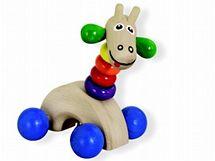 Žirafa na kolečkách