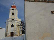 Kostel v Horních Věstonicích - soutěž o nejlépe opravenou památku jižní Moravy