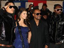 Black Eyed Peas v Cannes na předávání NRJ Music Awards