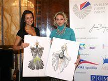 Finalistka České Miss 2010 Jitka Válková