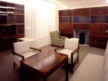 Obývací pokoj Lucie Rie, návrh E. A. Plischke, 1928