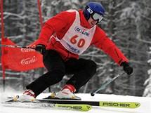 Rychlostní závod na lyžích v rámci CS Link SKI magazín Open ve Špindlerově Mlýně
