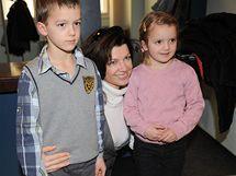 Elen Černá s dětmi