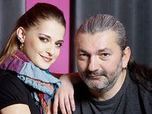 Šárka Vaňková a Dan Hůlka