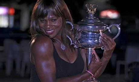Serena Williamsová - vítězka Australian Open 2010