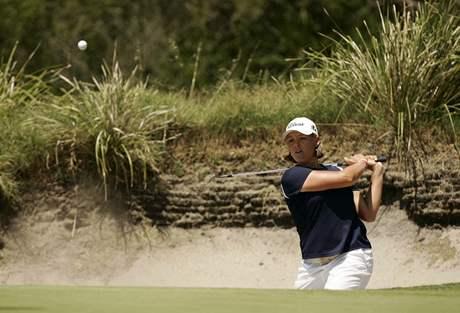 Golfové hřiště Kingston Heath v Austrálii - dějiště turnajů PGA.