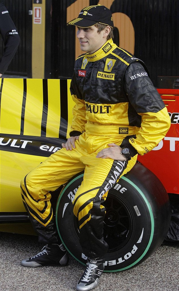T&#253;m F1 Renault 2010: Vitalij Petrov