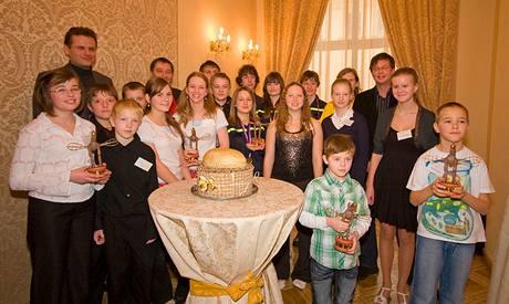 Držitelé Zlatého oříšku za rok 2009.
