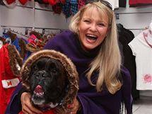 Chantal Poullain Polívková se svým psem