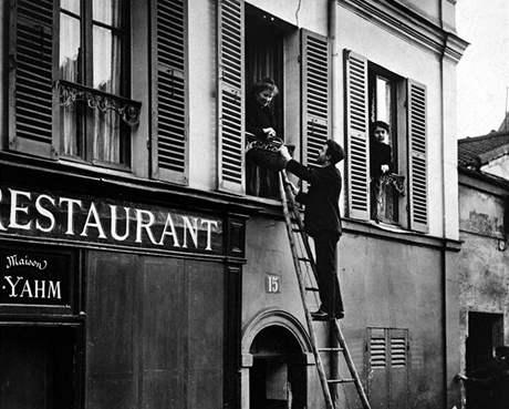 V šestém pařížském obvodu 29. ledna 1910
