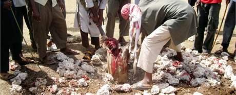 Trest smrti ukamenováním. Ilustrační foto