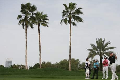 Lee Westwood - Dubai Desert Classic 2010, 4. kolo
