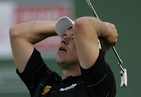 Lee Westwood- Dubai Desert Classic 2010, prohra v play-off