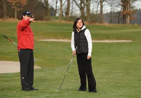 Seriál o golfových pravidlech - ukázání směru hry.
