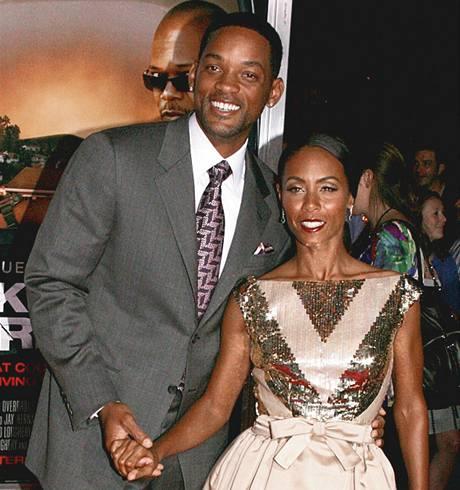 Will Smith a Jada Pinkett.