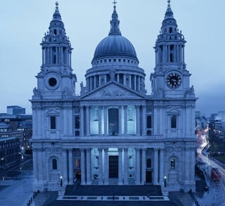 Londýnská katedrála sv. Pavla.