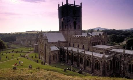 Katedrála sv. Davida ve waleském Dyfedu