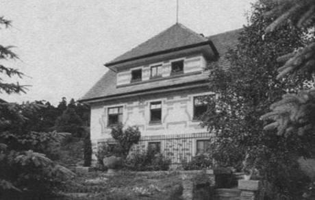 Tasov, dům, v němž Deml žil