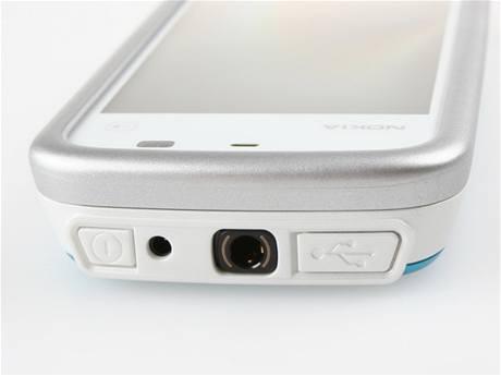 Recenze Nokia 5230 detail