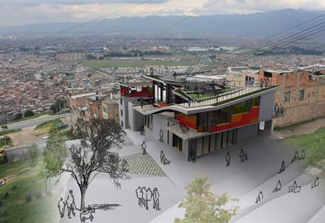 Oprávněná architektura krajinné transformace, Kolumbie