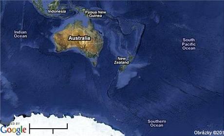 Mapa Antakrtidy