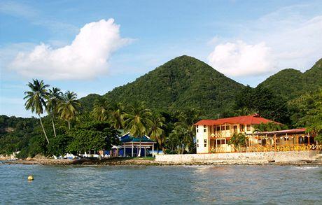 Ostrůvek Providencia poblíž San Andrés