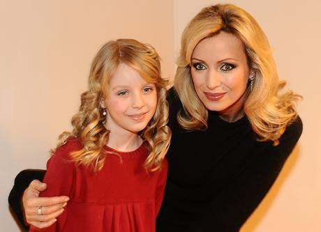 Kateřina Brožová s dcerou