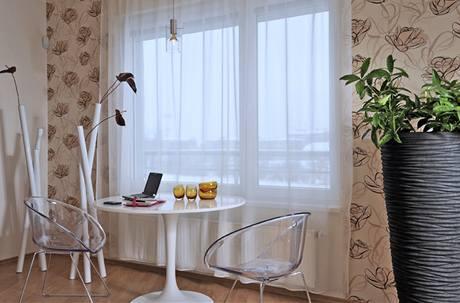 Zákoutí s univerzálním nábytkem nabízí komfort pro delší posezení