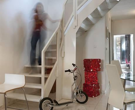 Mezonetový byt v pavlačovém paneláku