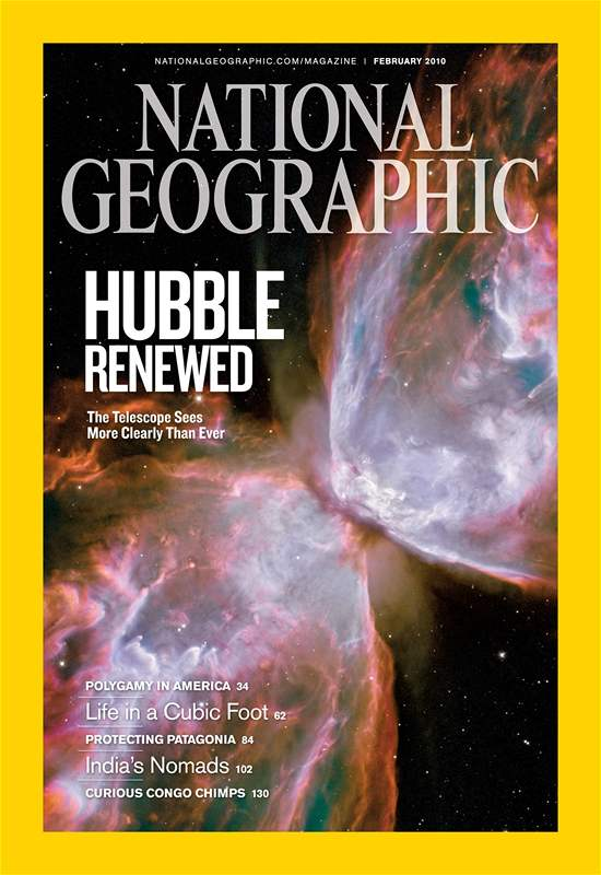 cover National Geographic (únor 2010)