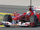 Massa, Ferrari a testy ve Valencii