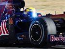 Buemi s vozem Toro Rosso ve Valencii