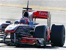 Gary Paffett s vozem McLaren