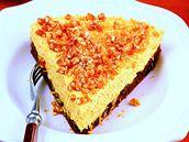 Medový cheesecake.
