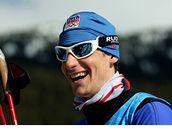 JSEM NA OLYMPIÁDĚ! Martin Jakš před kontrolním závodem běžců na lyžích v kanadském Whistleru.